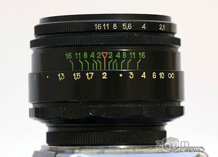 Гелиос 44-2 58 мм