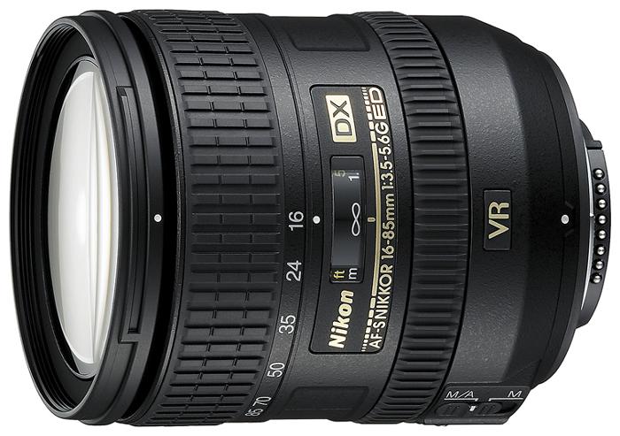 Nikon AF16-85MM F/3.5-5.6 G ED VR DX Nikkor