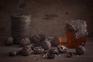 орешки с медом