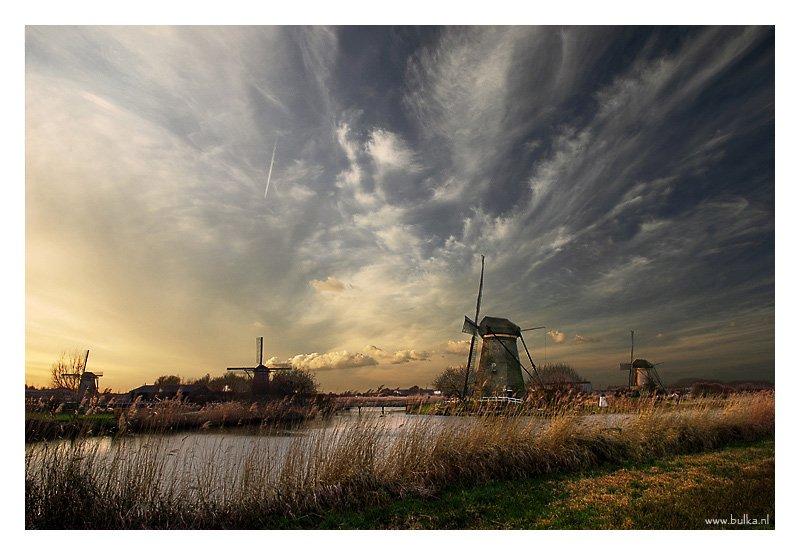 Kinderdijk, Holland, Maria Netsounski (bulka)