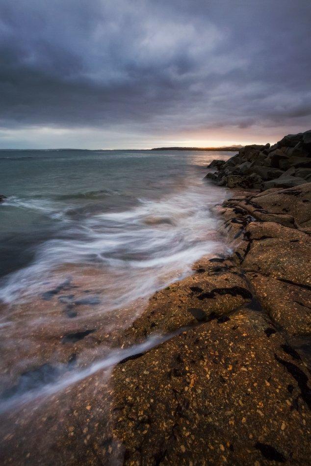 Tasmania, Tomahawk Bay, duch