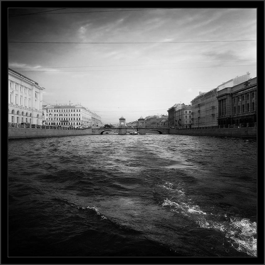 петербург, центр, фонтанка, чб, квадрат, Kirill Shapovalov