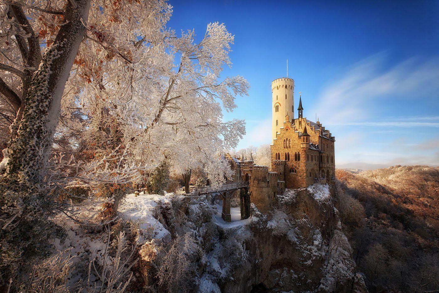 lichtenstein, castle, Marcin Kuras