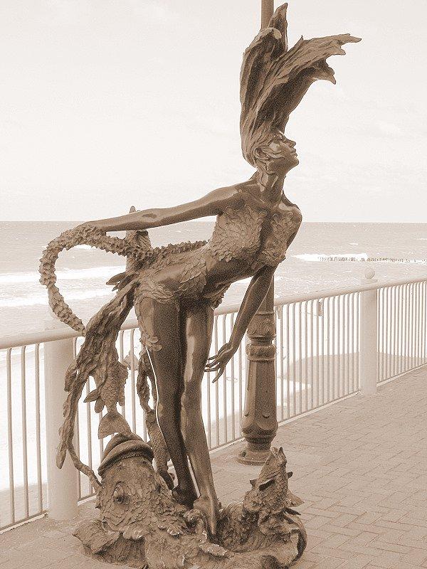 балтика, владычица, скульптура, Andi