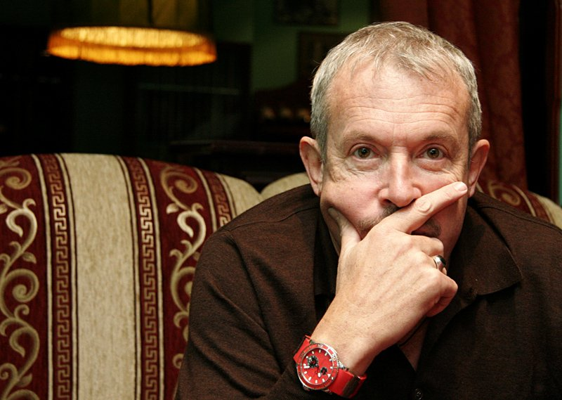 """а.в.макаревич, лидер группы """"машина времени"""", телеведущий, художник., Смолянская Евгения"""