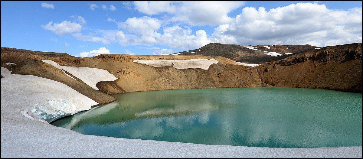 Исландия, Озеро, Олег Потехин
