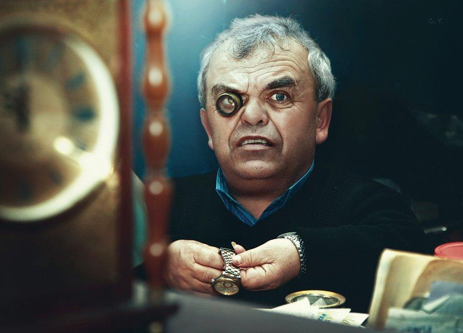 часовщик, время, Gulyaev Yury