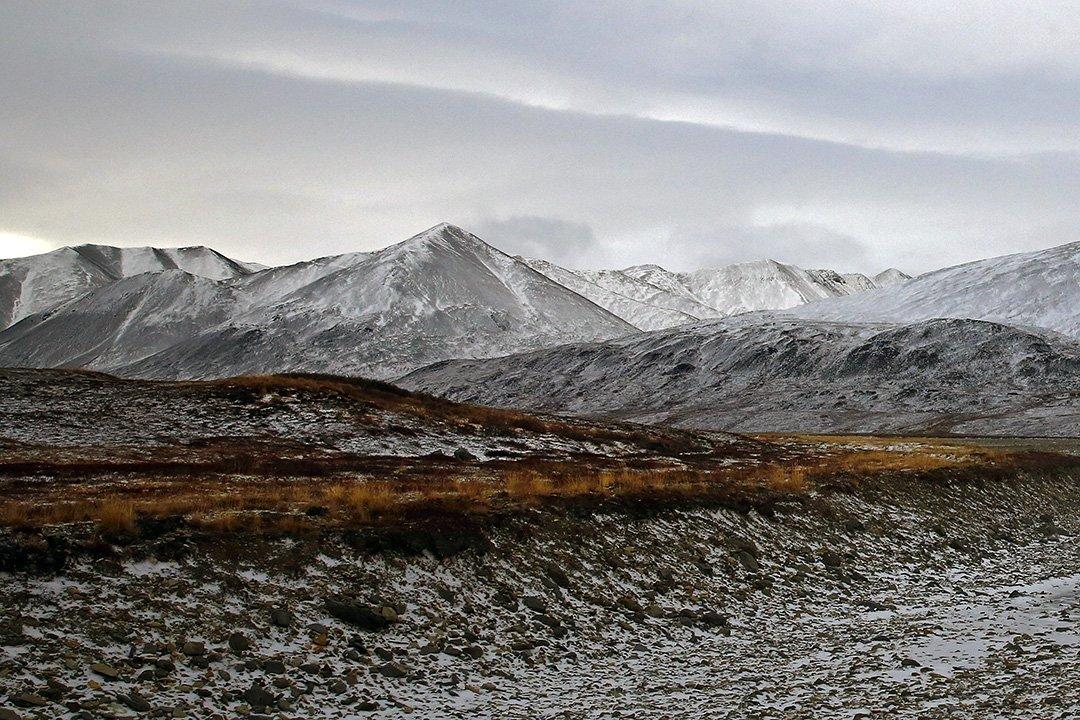 Россия чукотка пейзаж сопки, Sergey Shulga