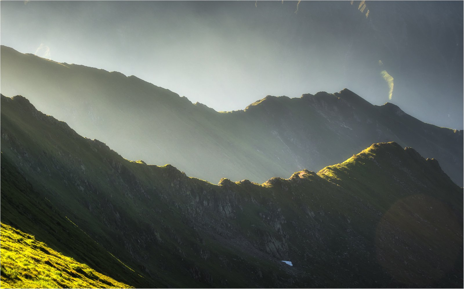 Landscape, Mountain, Peak, Romania, Ioan Chiriac