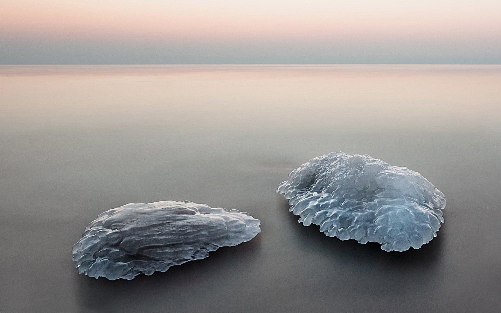 Камни, Лед, Море, Olegs Patrejevs
