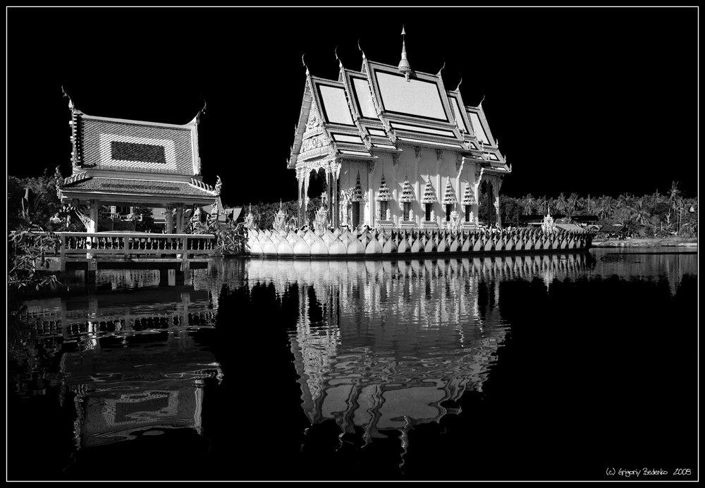 тайланд, остров самуи, храм wat prai laem, Григорий Беденко