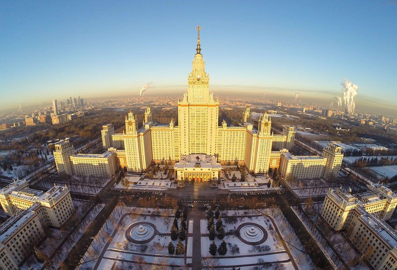 Закат, Мгу, Москва, Dmitry Sumin