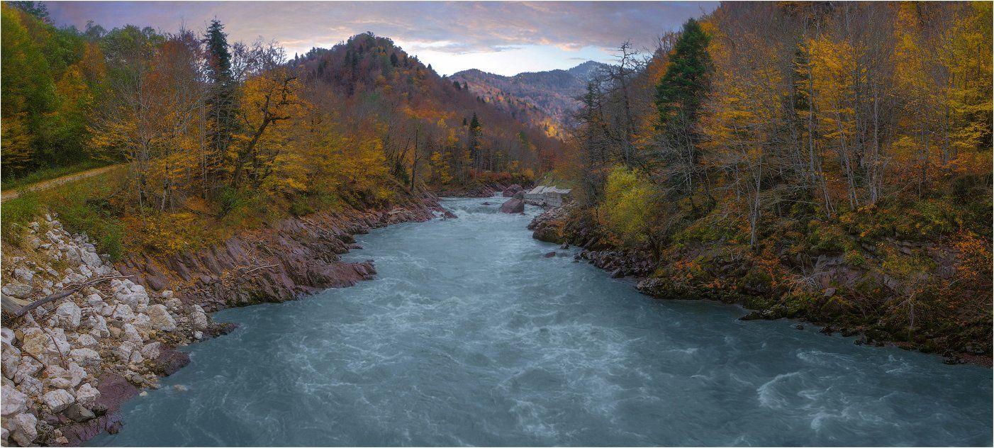 Осень, Река белая, SkorovS