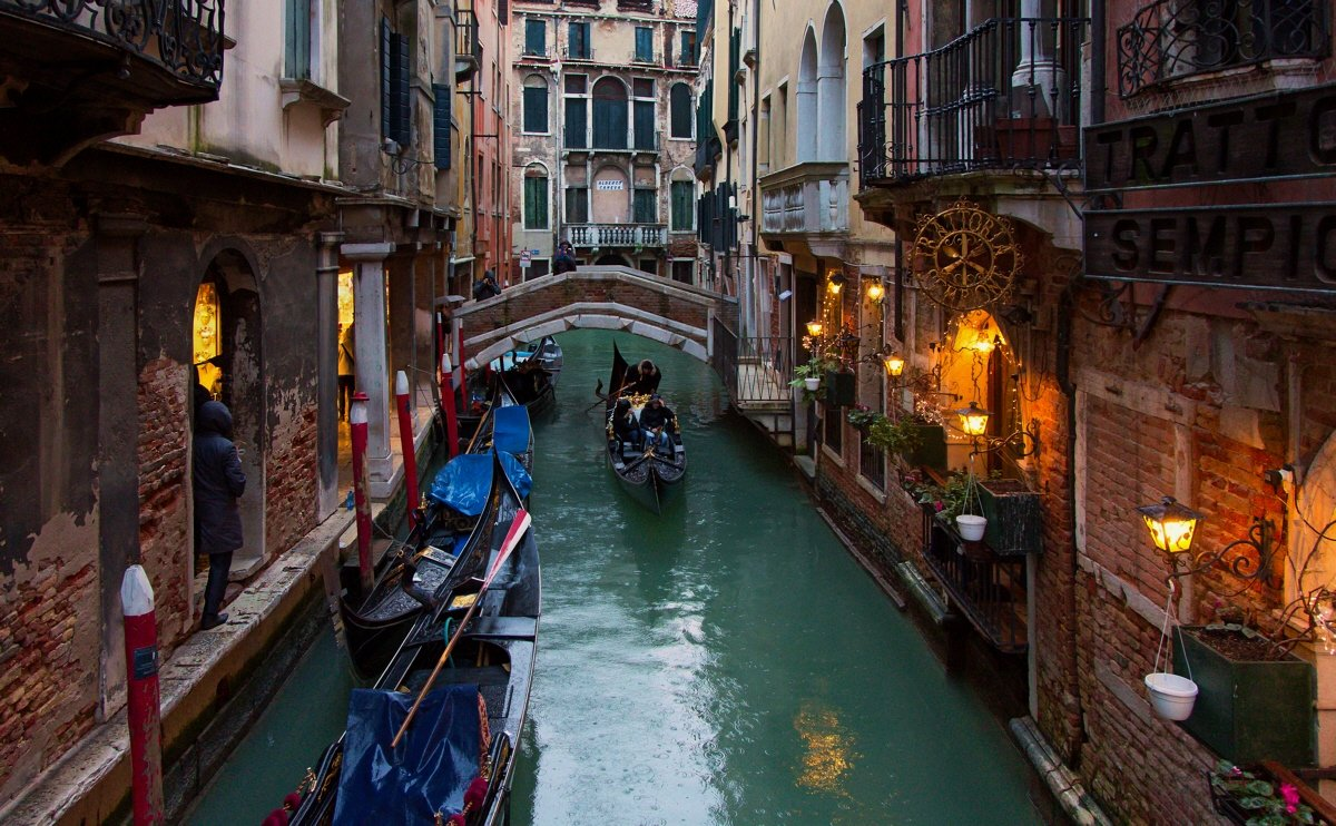 венеция, Yurma