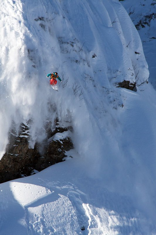 экстрим, горные лыжи, фрирайд, Евгений Васенёв