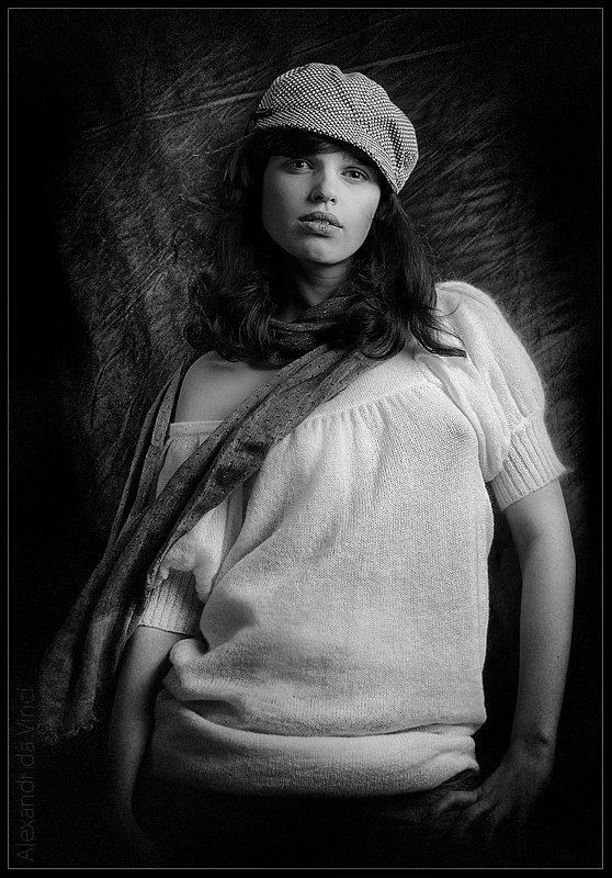 девушка, марина, обработка, портрет, Alexandr da Vinci