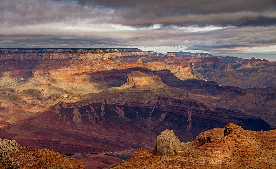 grand, canyon, Yurma