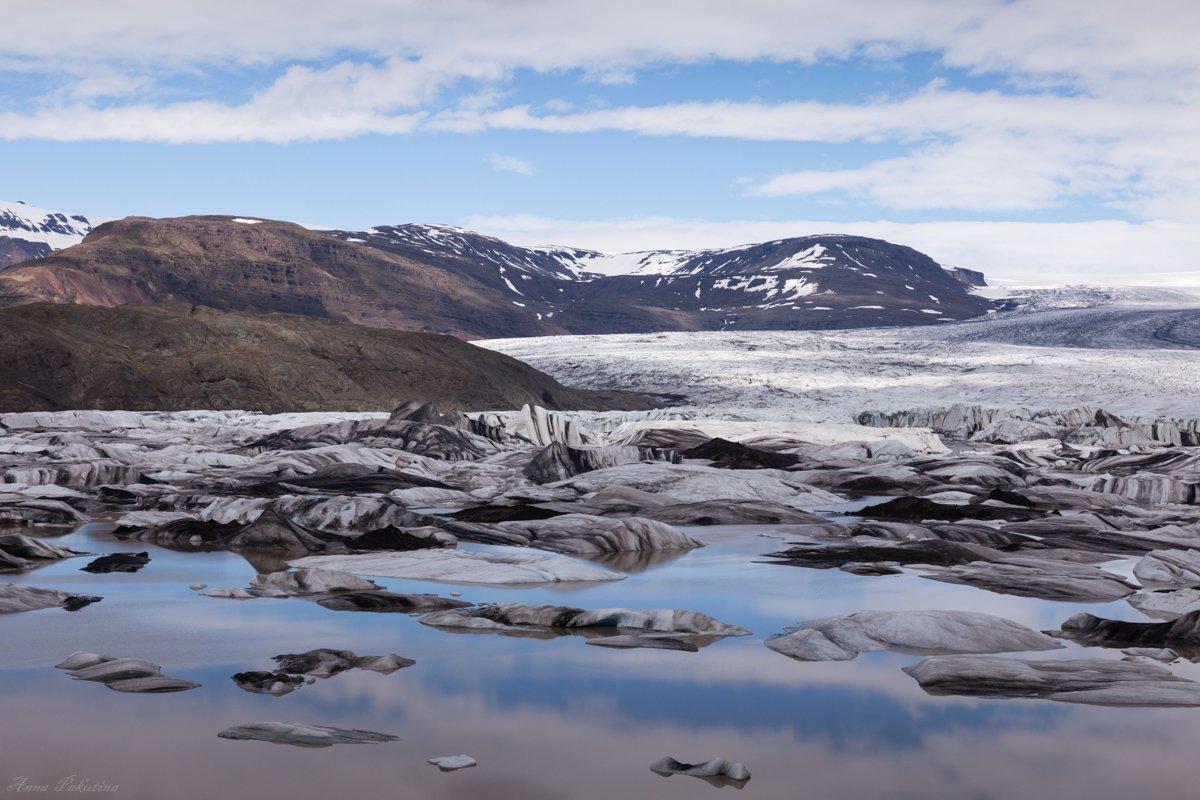 Iceland, Айсберг, Исландия, Ледник, Анна Пакутина