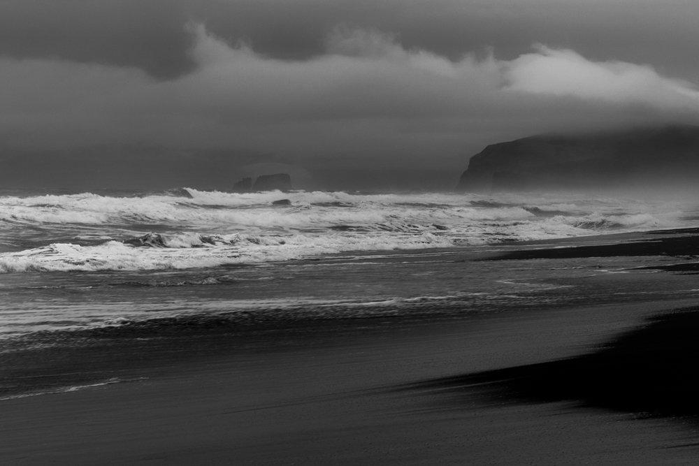 море, волны, настроение, Сергей Краснощёков
