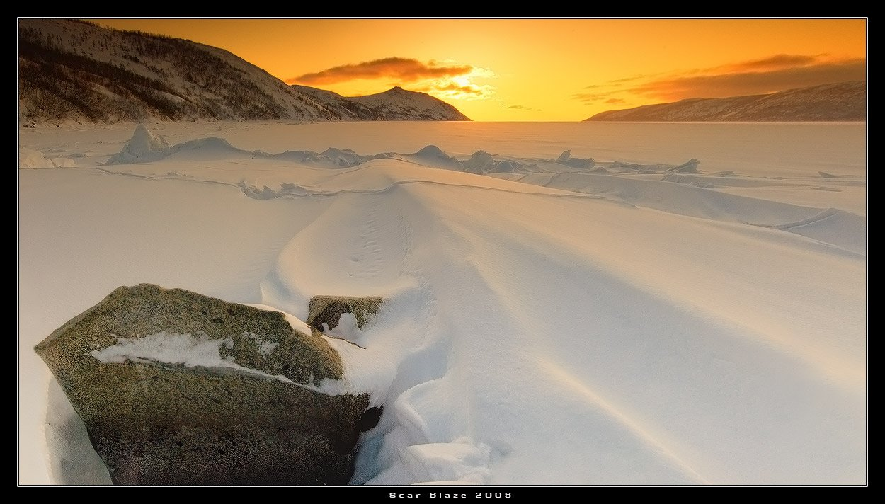 магадан, бухта нагаева, г. каменный венец, снег, Scar Blaze