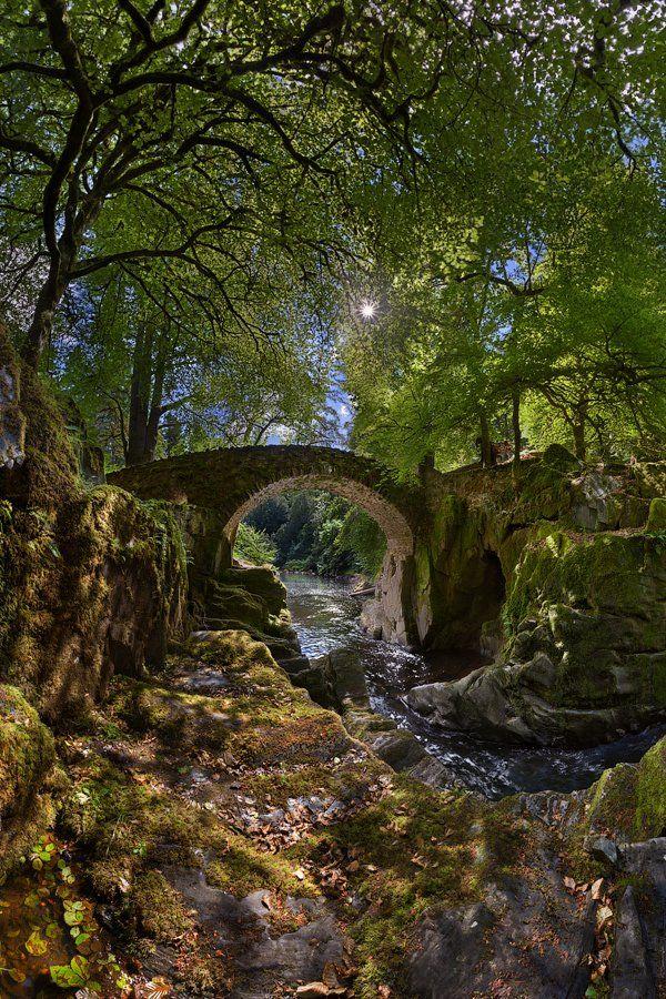 , old bridge, perthshire, scotland, старый мост, шотландия, Alex Darkside