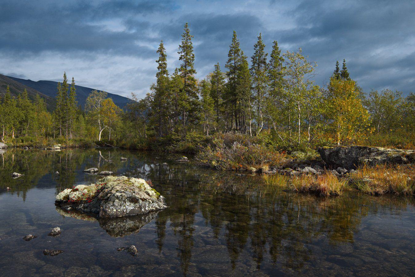 2014, Осень, Полигональные озера, Хибины, Kaiser Sozo