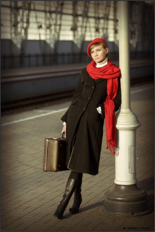 вокзал, Андрей Житков