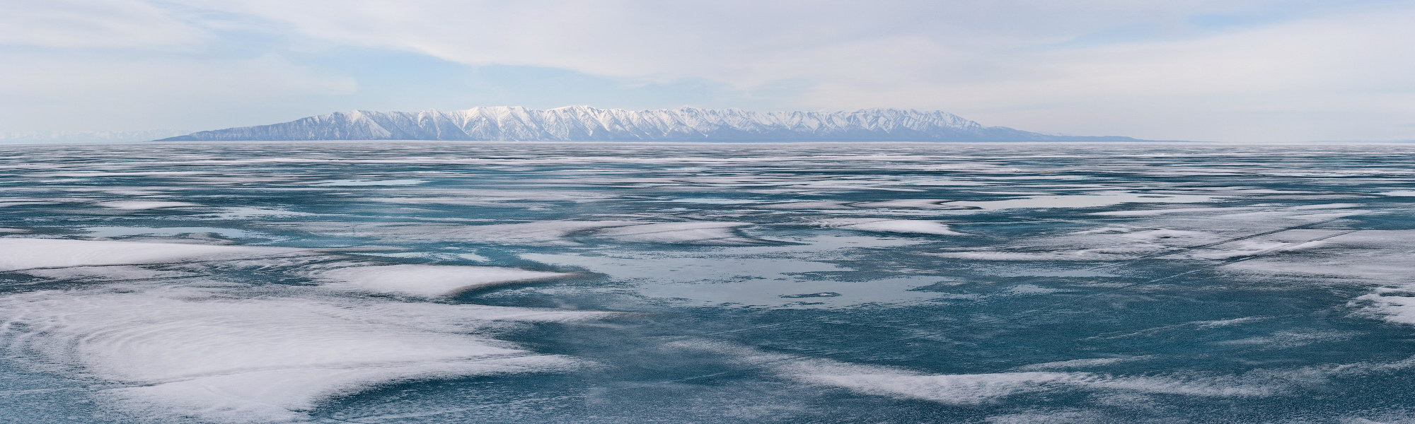 бурятия, байкал, полуостров, святой нос, весна, лёд, Олег Шубаров