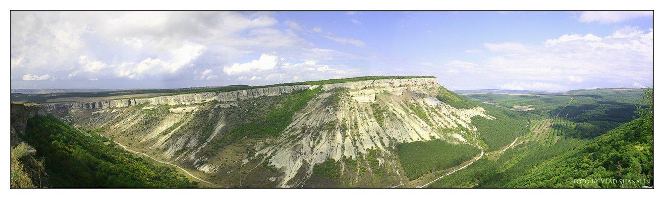 крым, чуфут-кале, панорама, Vlad Shanalin
