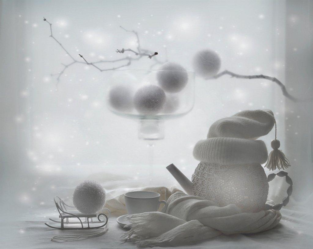 Зимнее настроение, Натюрморт, Вероника Бабенко