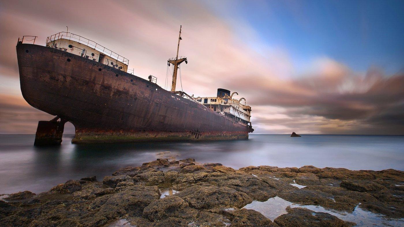 Lanzarote, Spain, Wreck, AdamPa