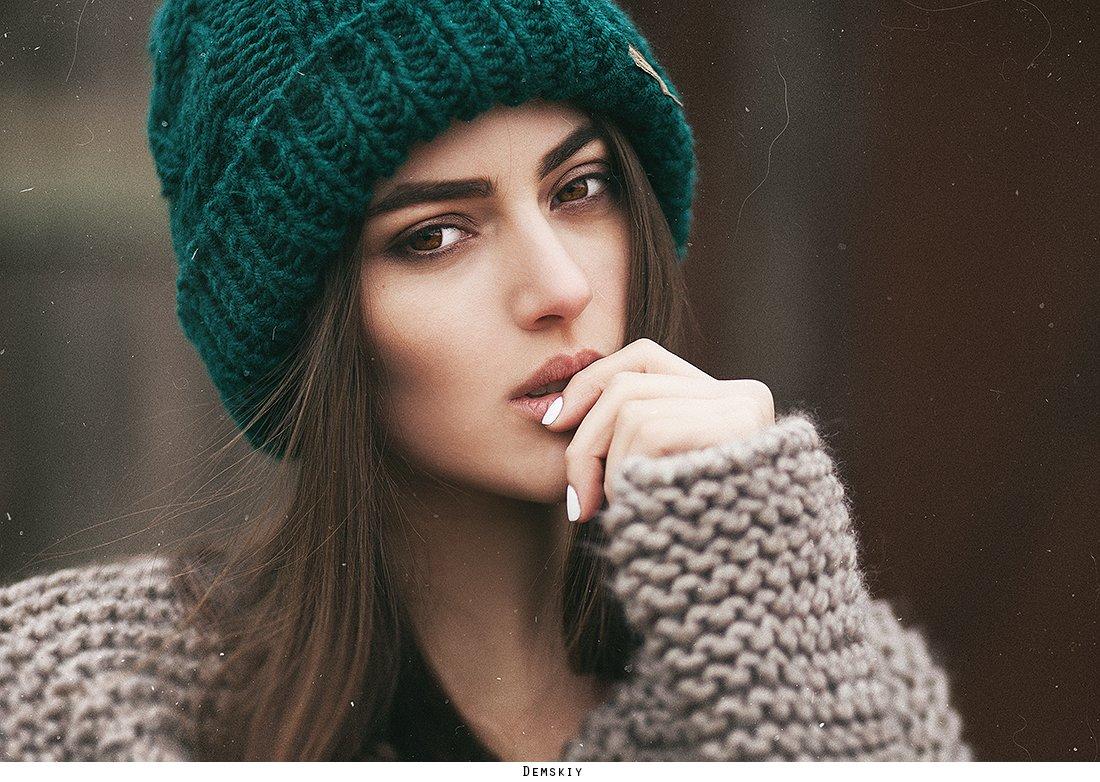 модель, взгляд, девушка, губы, Руслан