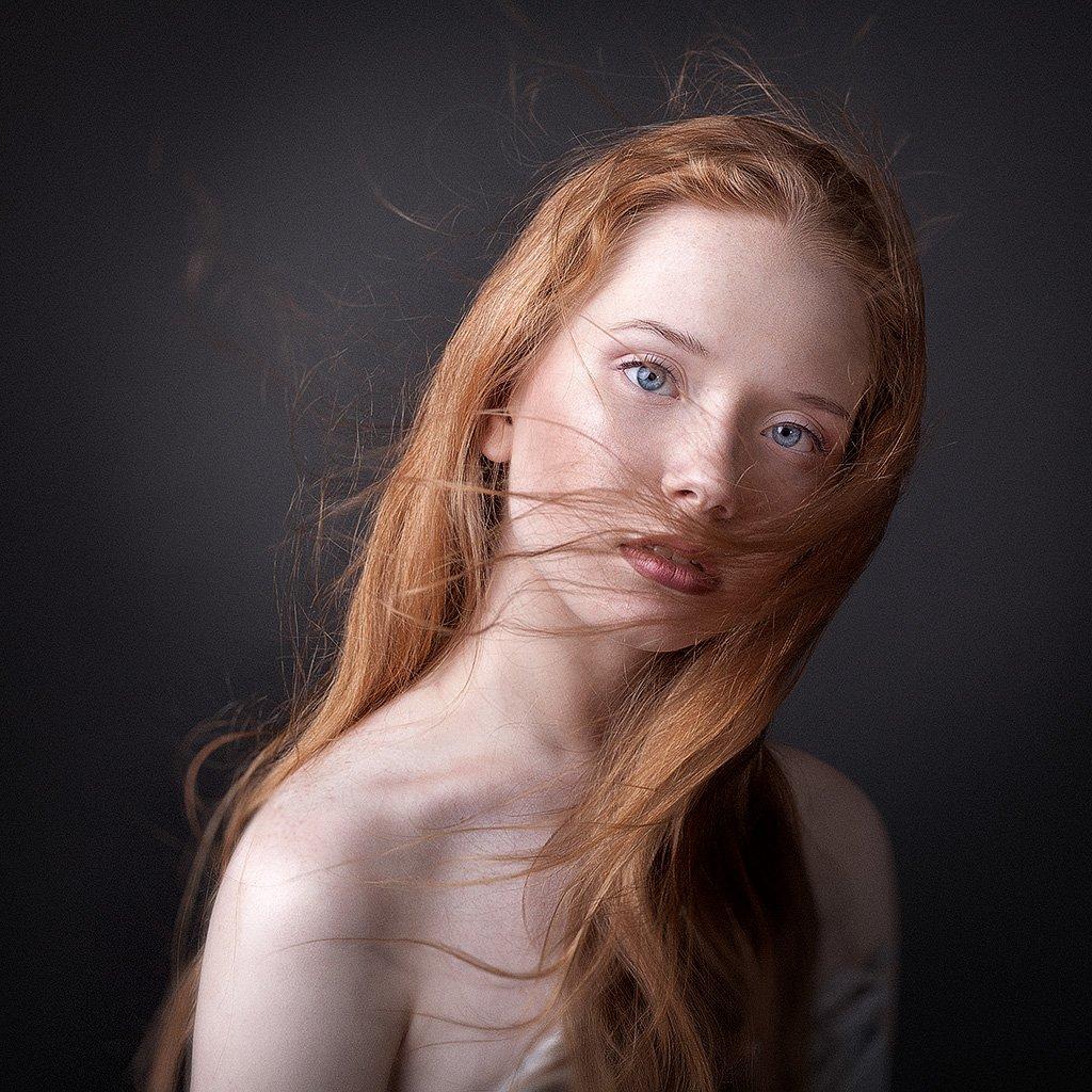 Eyes, Girl, Hair, People, Portrait, Казанцев Алексей