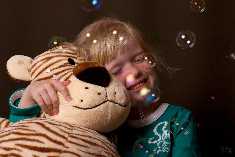 игрушка, мыльные пузыри, девочка, Vlad Shanalin