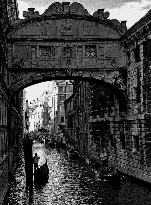 венеция, гондольер, мост вздохов, gavroche