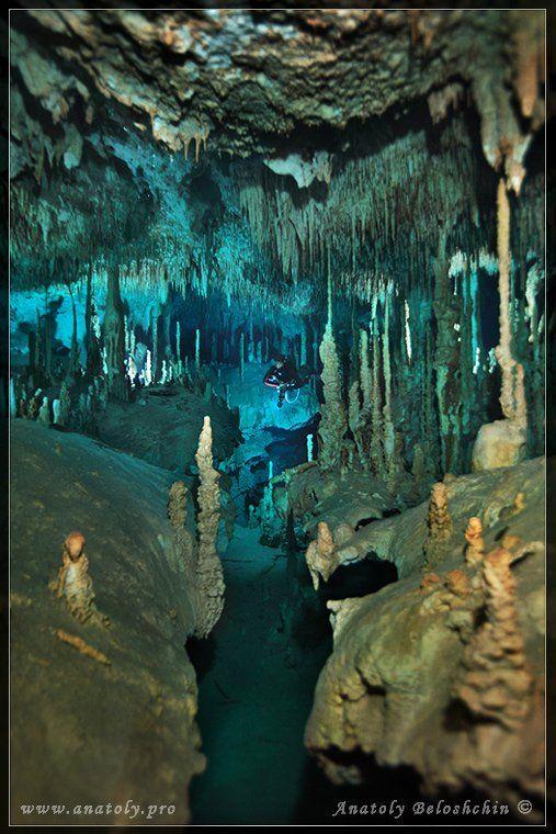Dream Gate, Анатолий Белощин, Мексика, Подводная пещера, Юкатан, Анатолий Белощин