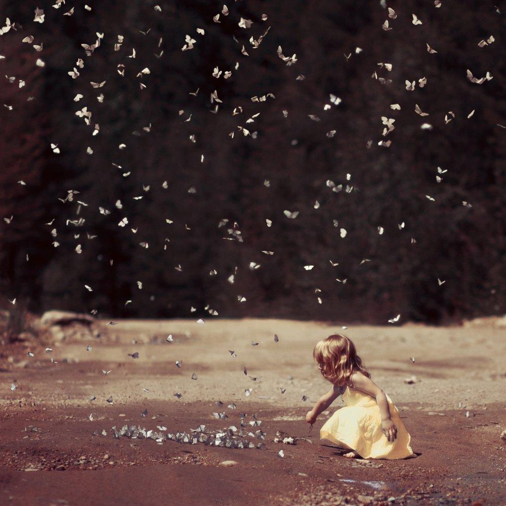 Butterfly, Girl, Анна Гражданкина