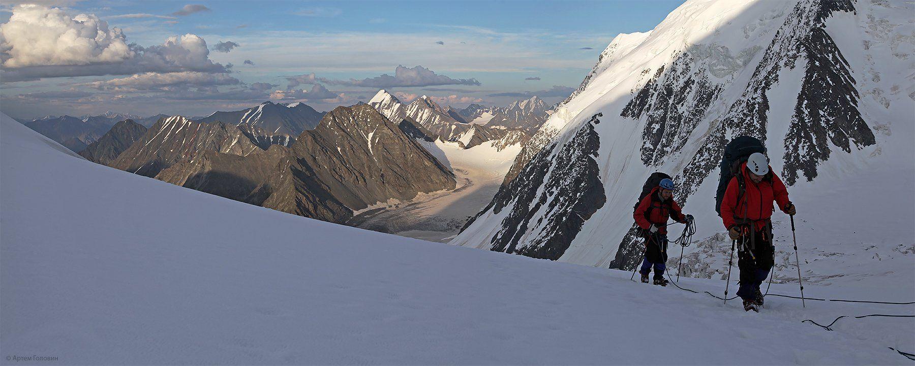 менсу, альпинисты, горы, алтай, Артем Головин