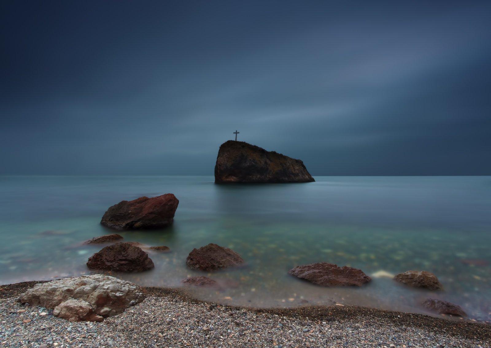 фиолент море камни скала небо, Михаил Трахтенберг ( t_berg )