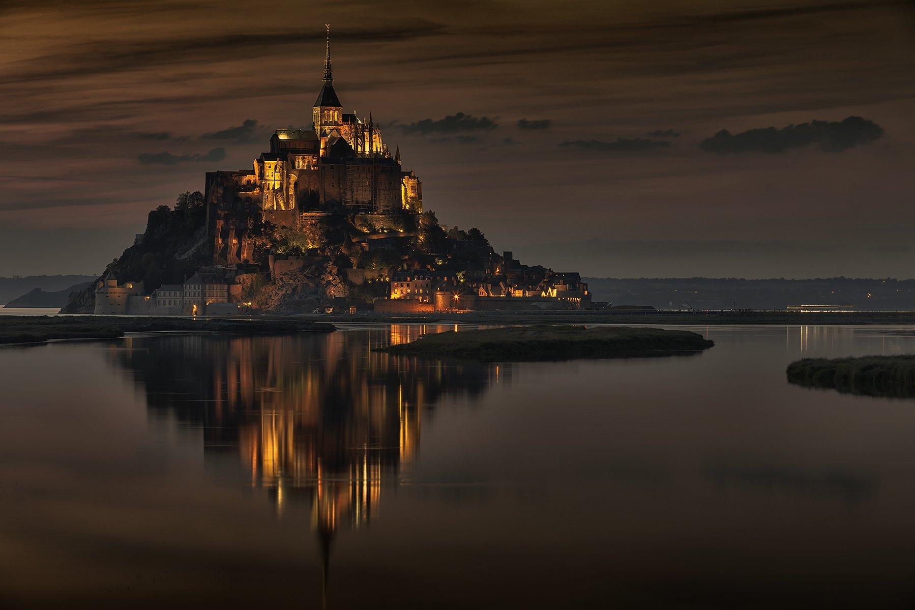 Le Mont Saint-Michel , Marcin Kuras