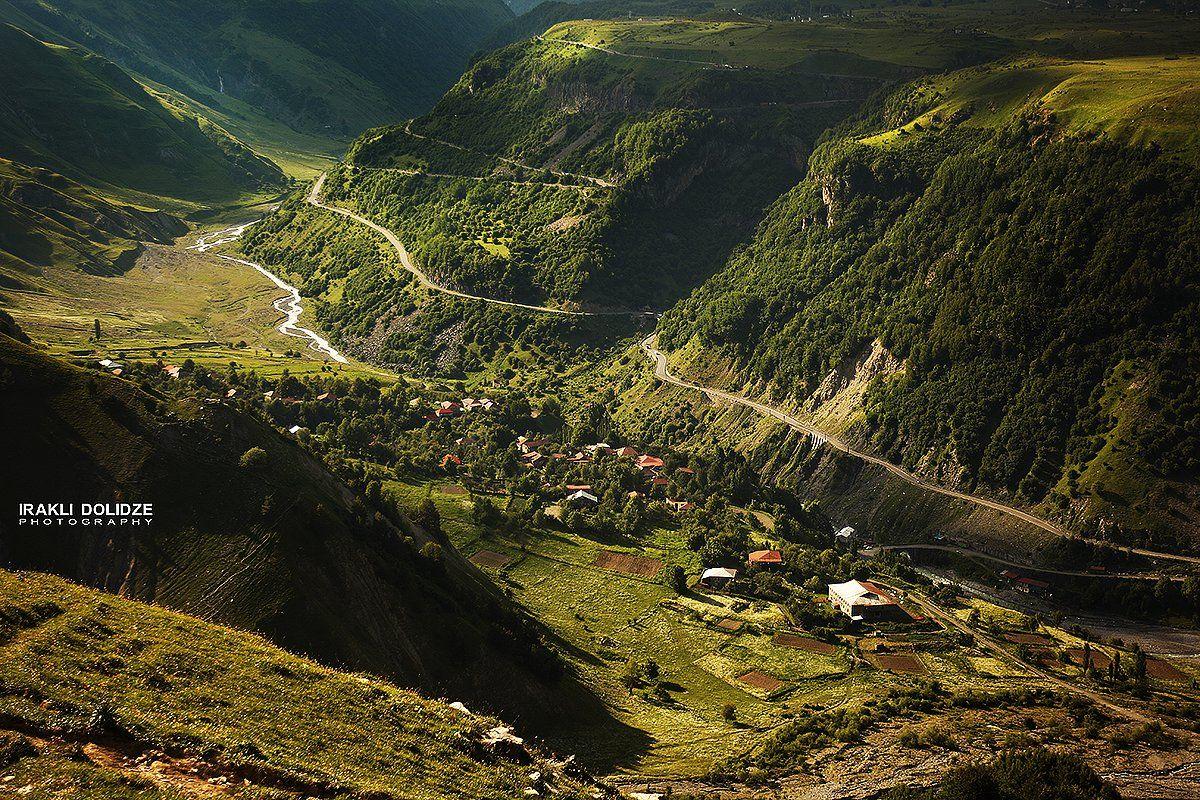 landscape;, mountain;, green;, georgia;, trip;, road;, village;, chill, out;, canon;, ირაკლი დოლიძე