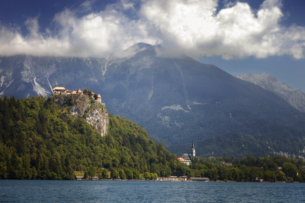 Замок Блед, Словения, Андрей Краснопольский