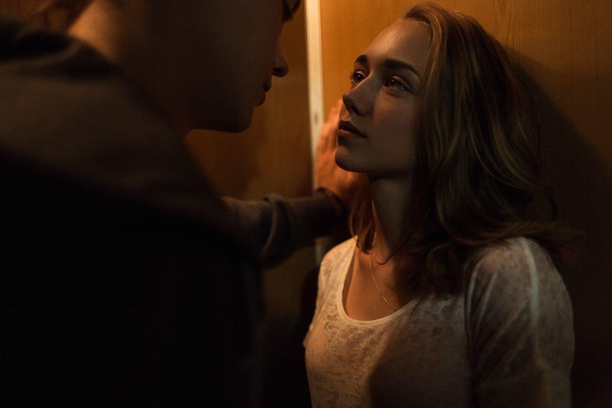 девушка, парень, лифт, любовь, свет, Блохин Антон