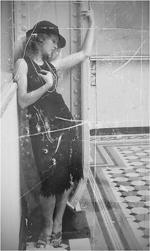 девушка, загадка, музыка сердца, ретро, Olga Panteleeva