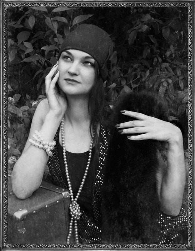 девушка, молодость, мечты,  взгляд , ретро, Olga Panteleeva