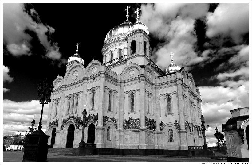 храм, христа, спасителя, москва, Alexis Assa