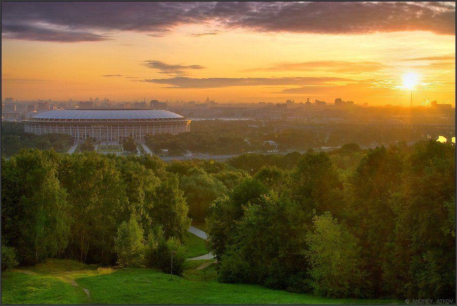 пейзаж, москва, Андрей Житков