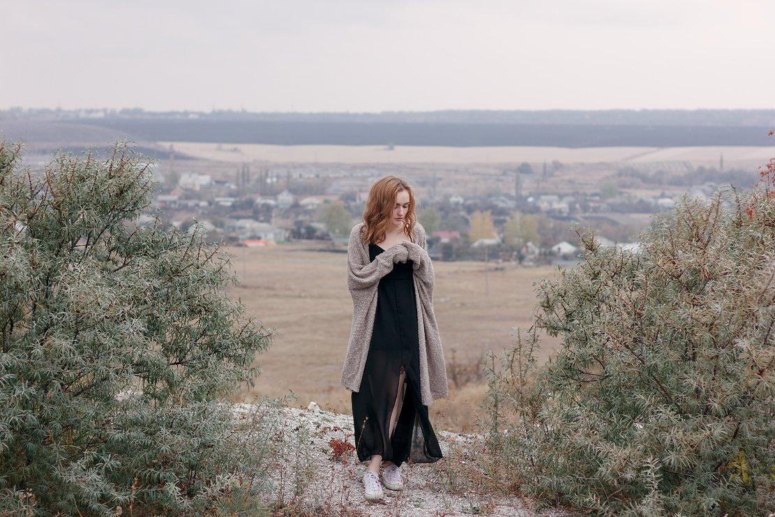 Девушка портрет пейзаж цвет фото canon 550D 50 1,8, Меркулов Антон