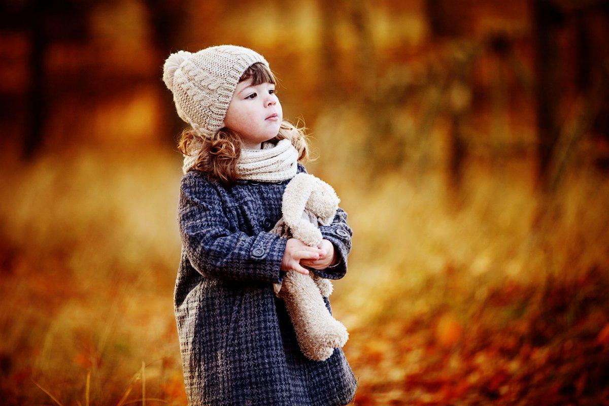 портрет,ребенок.осень, Мария Монастырная