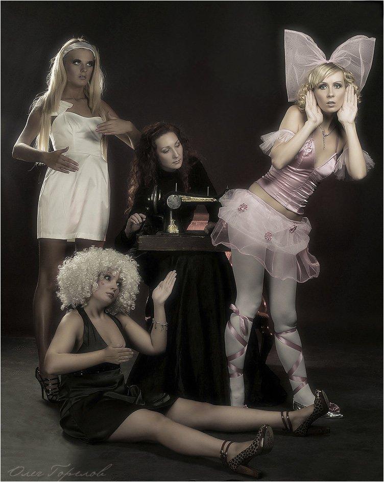 швея, мастерица, куклы, SUPINATOR